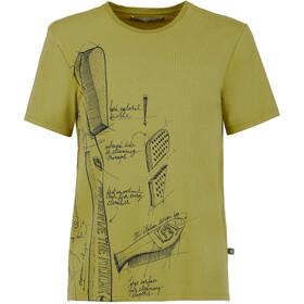 93ae033ba8074 E9 Preserve - T-shirt manches courtes Homme - olive
